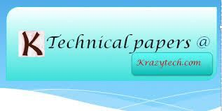 general technical paper presentation topics details general technical paper presentation topics details