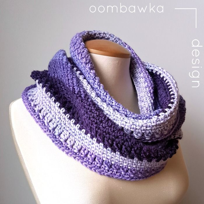 Casual Cowl a Free Crochet Pattern from Oombawka Design | Free ...