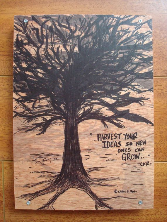 Wood Art Inspirational Quote Image Transfer Harvest Your Ideas 35 00 Via Art Quotes Inspirational Inspirational Pictures Inspirational Quotes With Images