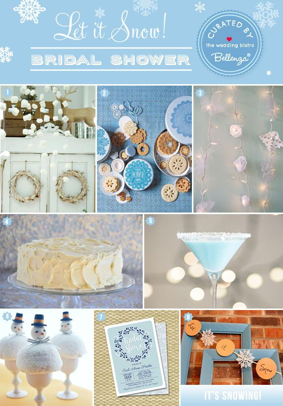 snow themed bridal shower ideas the wedding bistro at bellenza winterwonderlandbridalshower