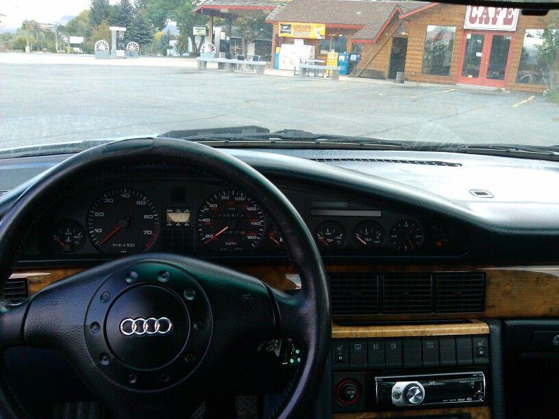 1990 Audi V8 Quattro Interior