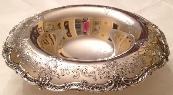 American Sterling Silver Center Piece Bowl Circa 1920 808