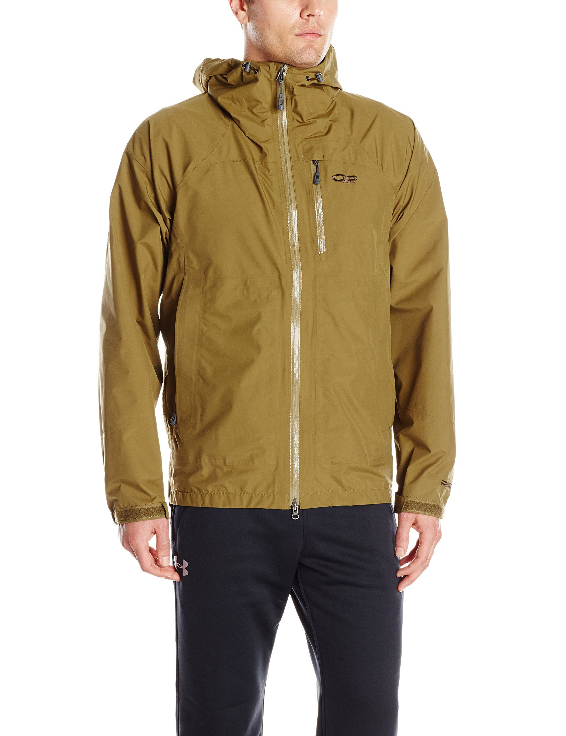 Outdoor Research Mens Foray Jacket Small Coyote ** You can