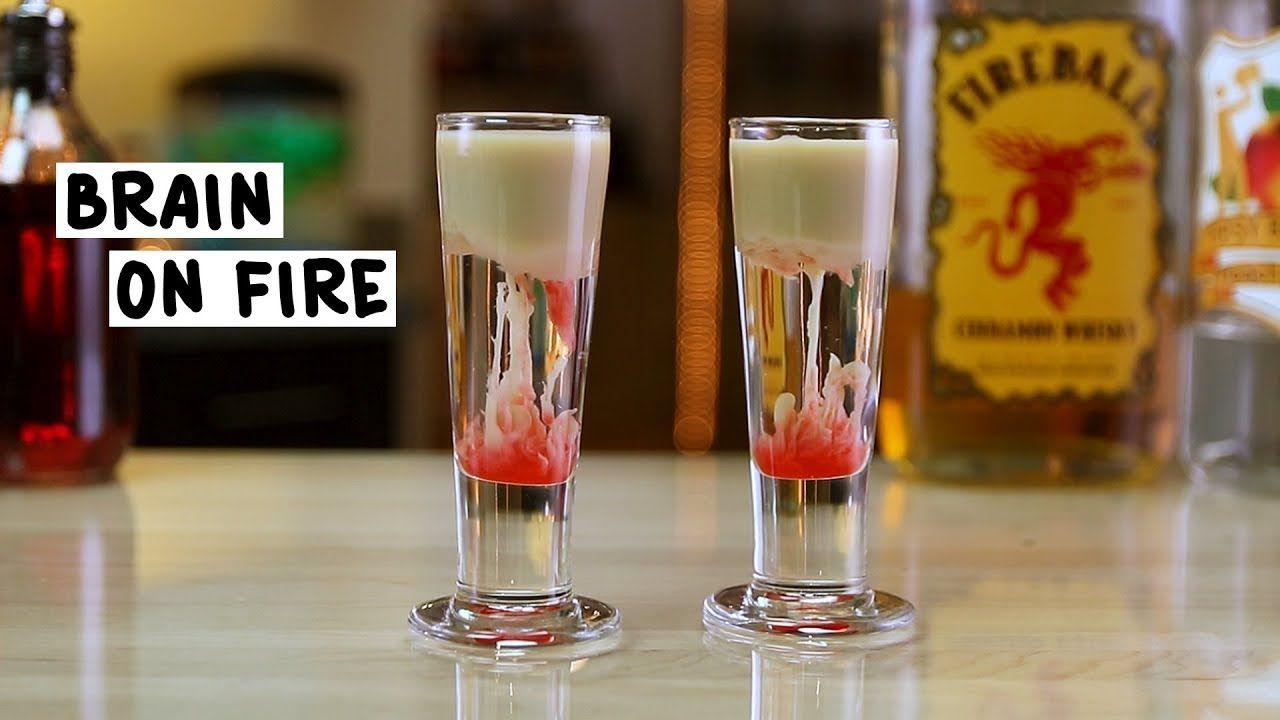 Brain On Fire Shot Tipsy Bartender Recipe Tipsy Bartender Fruity Shots Tipsy Bartender Recipes