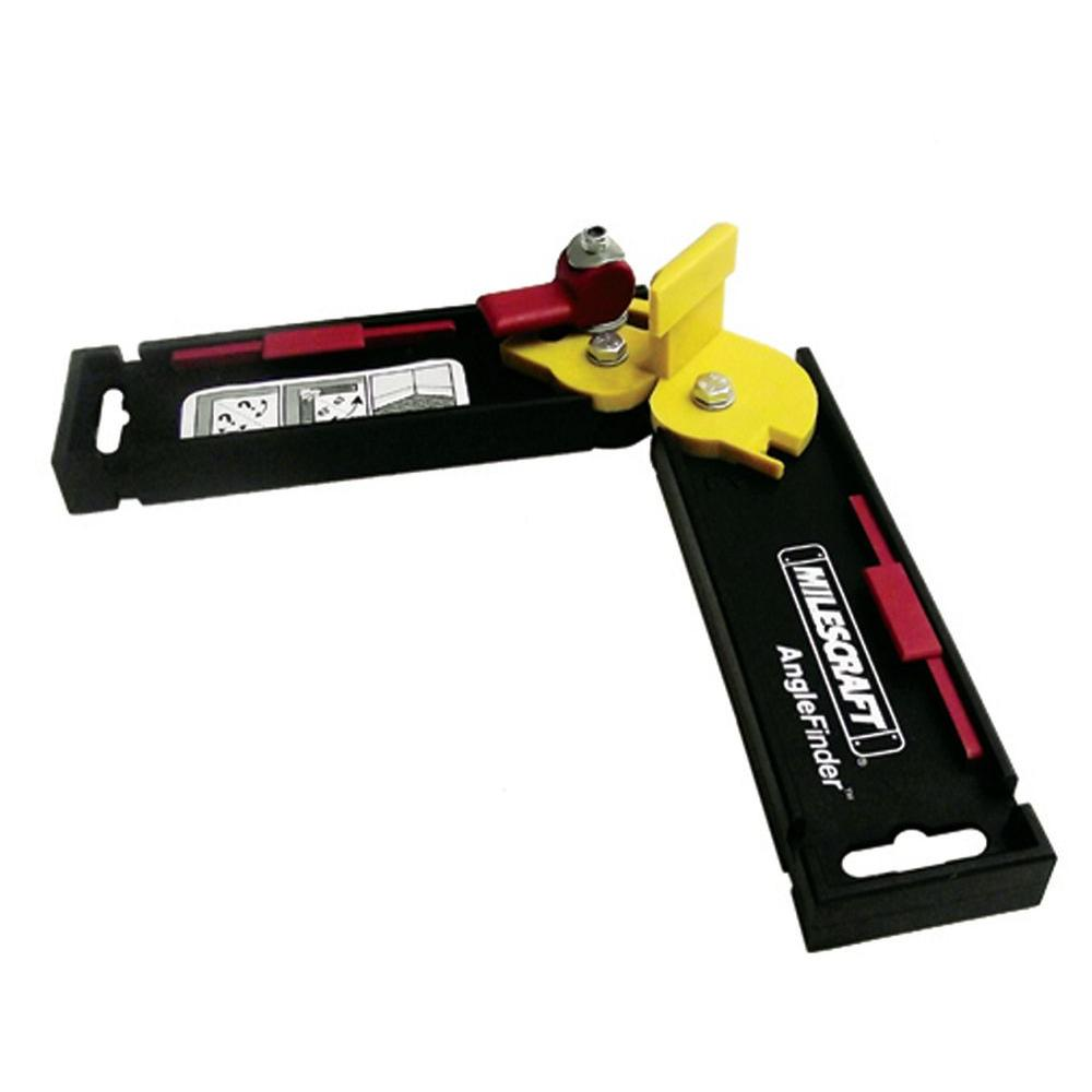 Milescraft Angle Finder For Miter Saws 8402 The Home Depot Angle Finders Saw Accessories Miter Saw