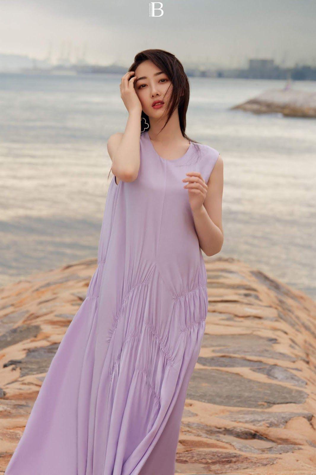 Li Bingbing poses for photo shoot   China Entertainment