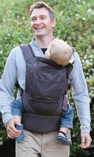 Onya NexStep in Java - made out of recycled bottles!  Also, a fantastic carrier for active lifestyles and hot weather.