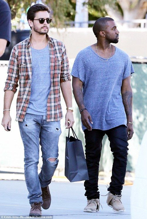 Scott Disick & Kanye West