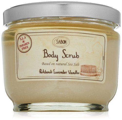 SABON Body Scrub, Patchouli Lavender Vanilla #bathandbeauty #bodyscrub
