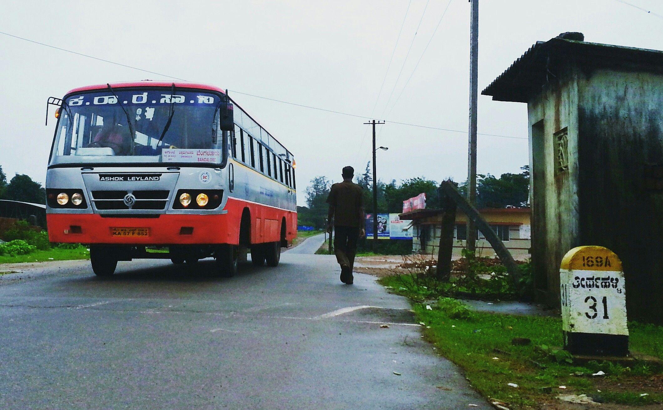 Karnataka Bus Frm Agumbe Bus The Incredibles