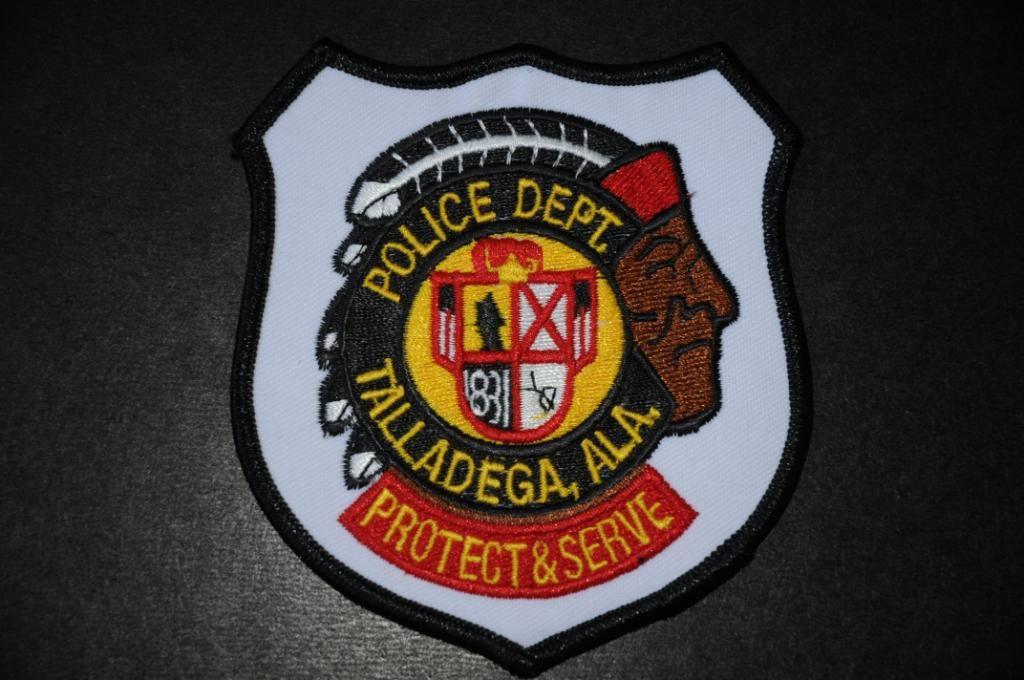 Talladega Police Police Patches Police Dept