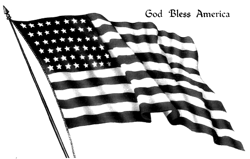 33++ July 4th clipart black and white info