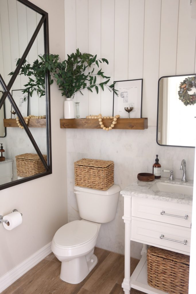 Photo of A New Powder Room with Floor & Decor