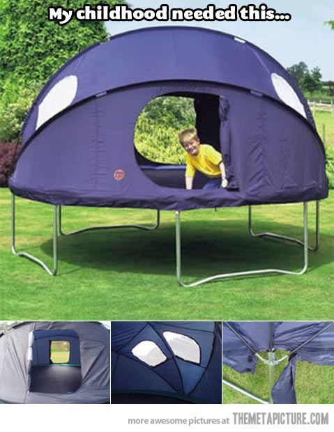 I still need it...Iu0027m always going to be a child  sc 1 st  Pinterest & Tent-trampolineu2026 | Trampolines Tents and Child