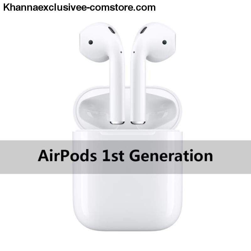 Apple airpods wireless bluetooth headphone for iphone xs