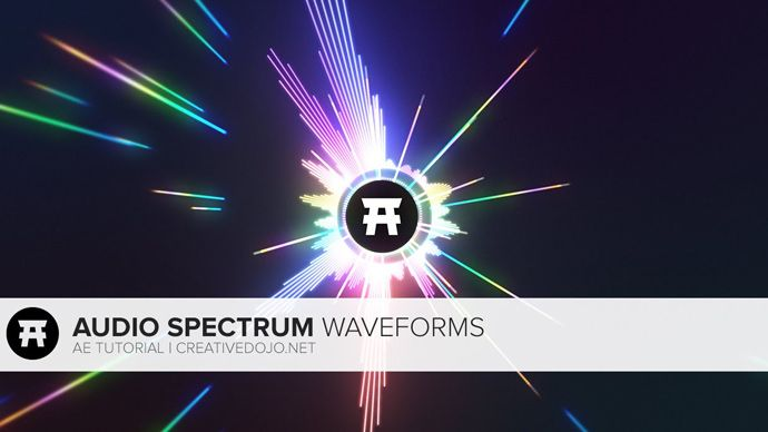 After Effects – Audio Reacting Spectrum Visualization Tutorial