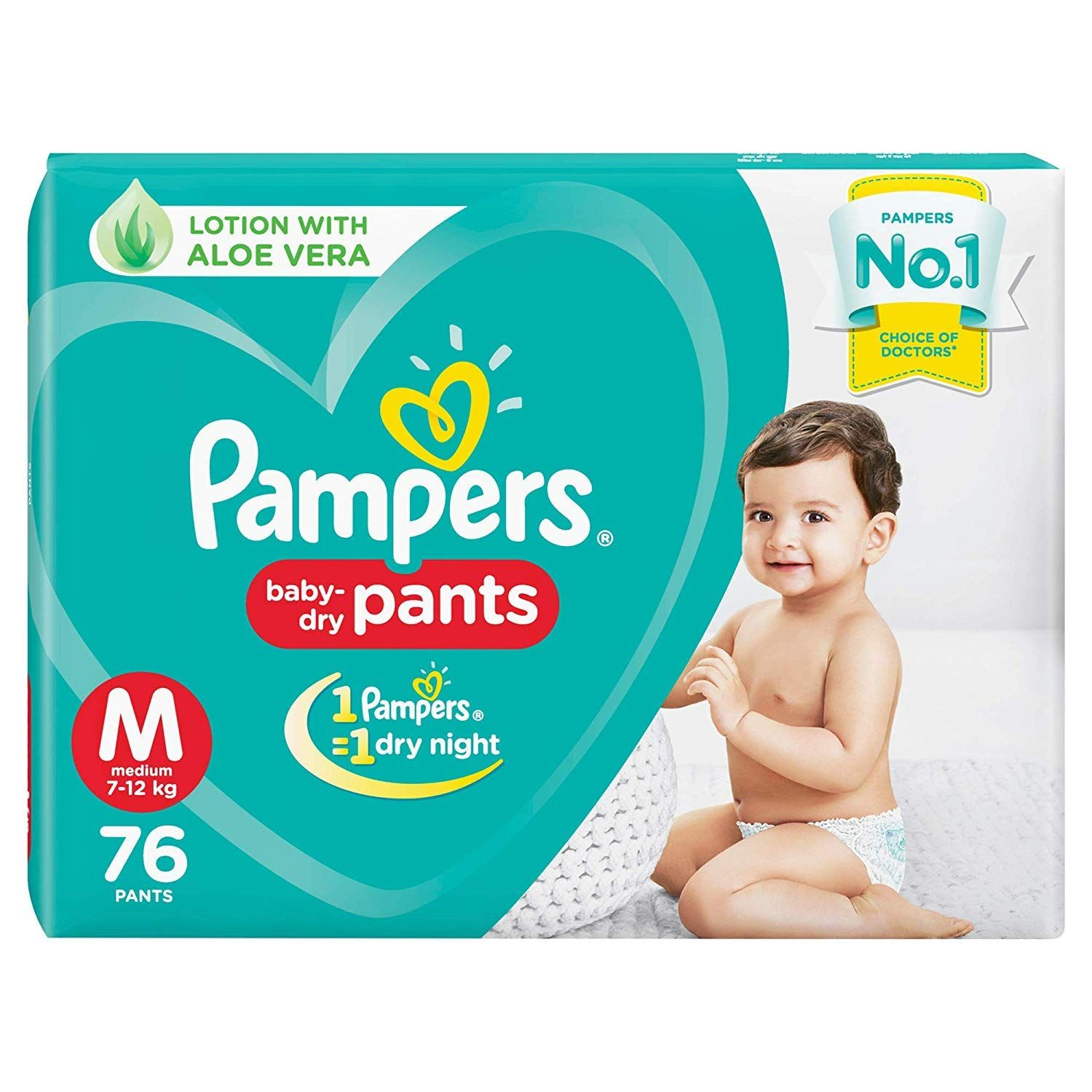 Pampers New Diapers Pants Medium 76 Count By Pampers Pampers Pampers Diapers Diaper