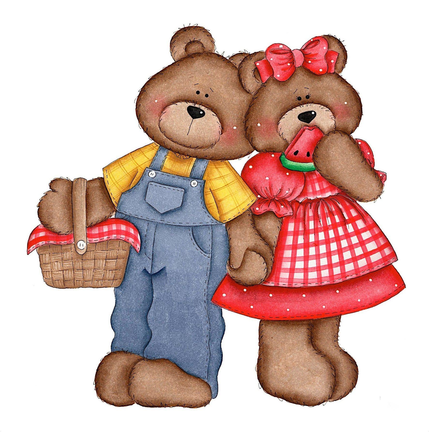 Для, картинки прикольных медвежат мультяшных