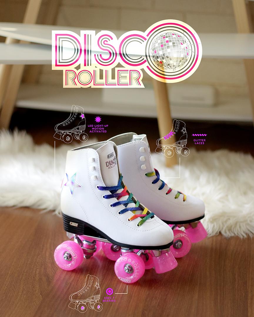 Light Up The Room Disco Roller Skating Roller Roller Skating