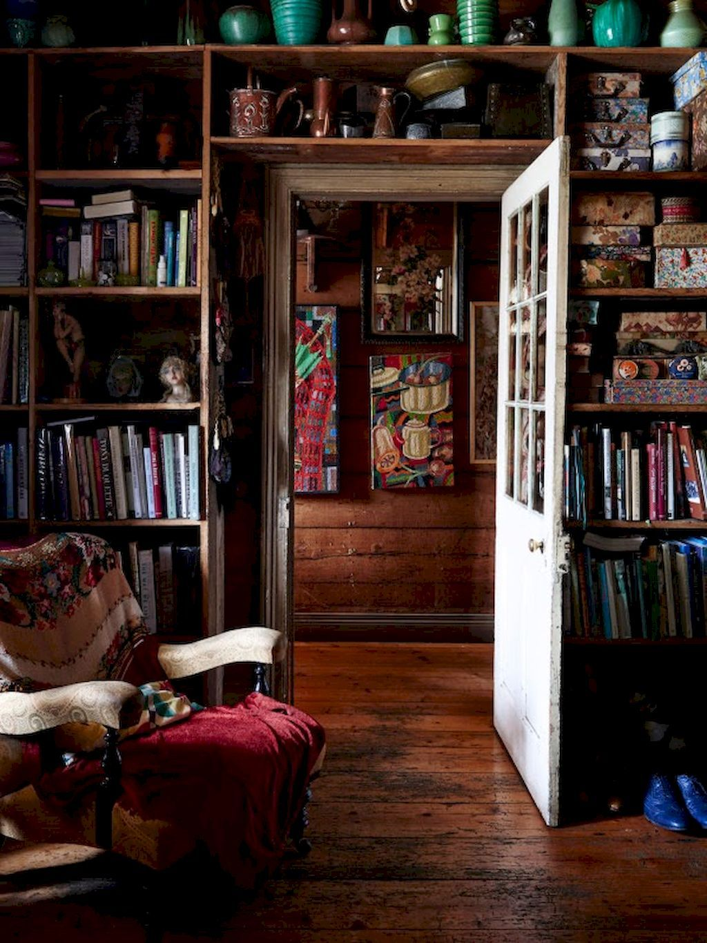 Amazing Home Libraries: 60 Amazing Library Room Design Ideas With Eclectic Decor