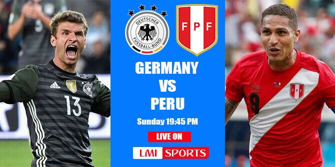 Livestream Deutschland Peru