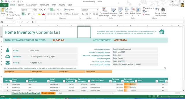 Office Inventory List Microsoft's Free Templates Aren't Just For Your Work Life .