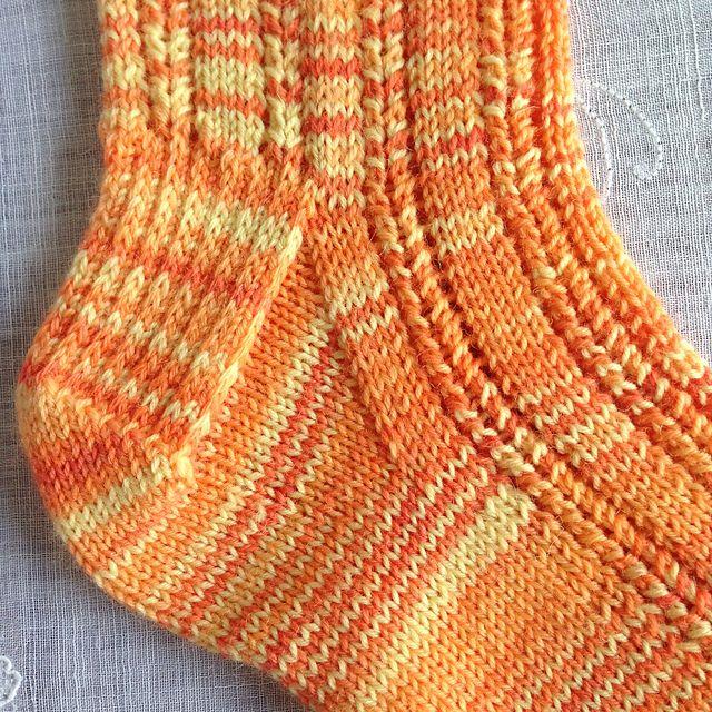 Ravelry: Solar socks pattern by Gill Slater | Gloves, mittens, socks ...