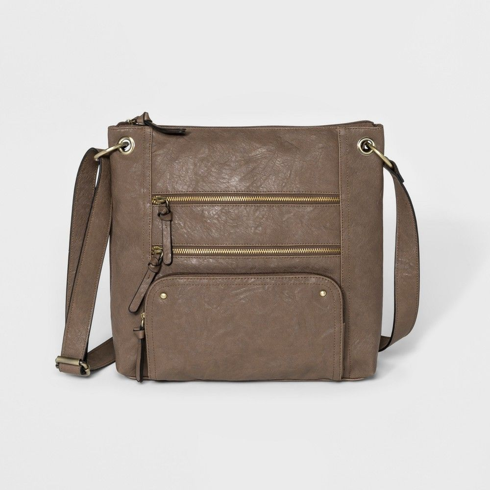 5fa7d3e00495 Bueno Veg Tan Crossbody Bag - Taupe, Women's, Size: Small, Brown ...