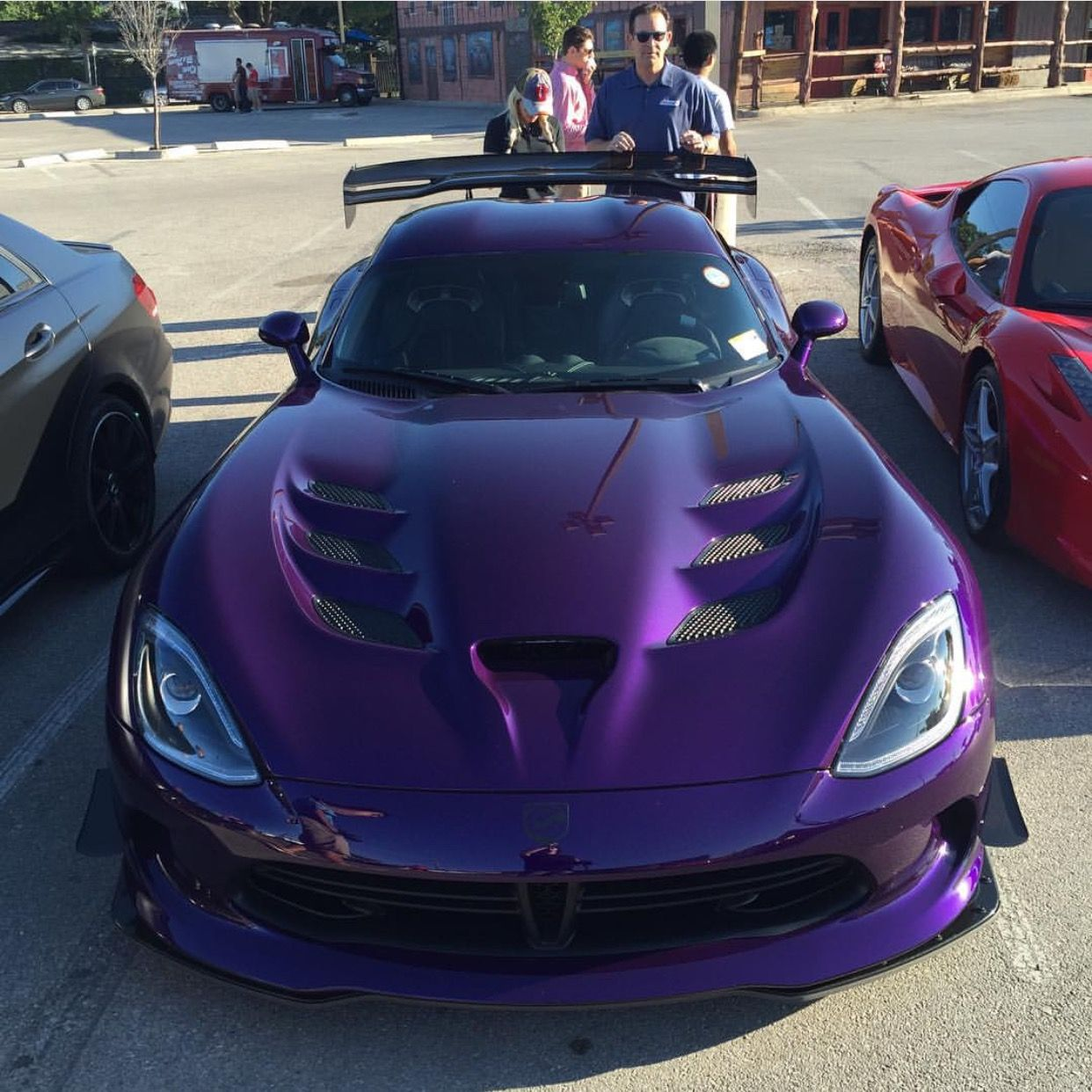 Dodge Srt Viper Acr Painted In Metallic Purple Photo Taken By Cernok Photography On Instagram Dodge Viper Cool Sports Cars Super Cars