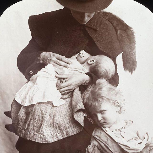 Woman Breastfeeding Her Baby 1910  Breastfeeding Art -3156