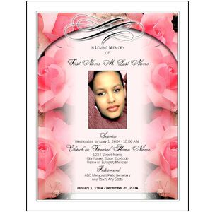 Free funeral program templates new funeral program templates are free funeral program templates dont deliver pronofoot35fo Gallery