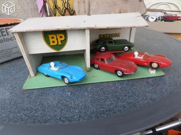 Jouet ancien garage bp