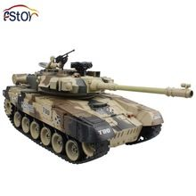 RC Tank 15 Channel 1/16 Russian T-90 Main Battle Tank Model With Shoot Bullet