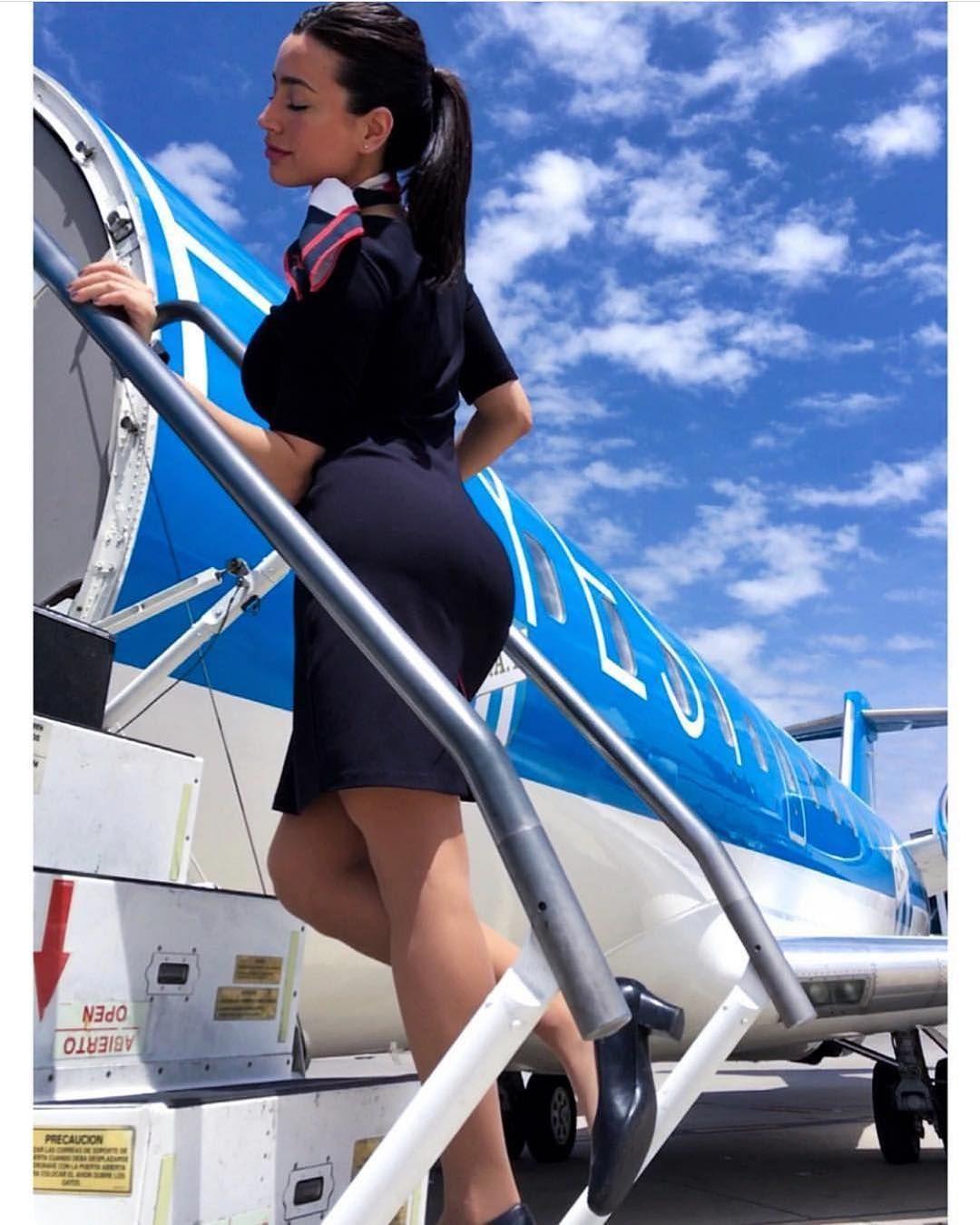 Flight attendant voyeur