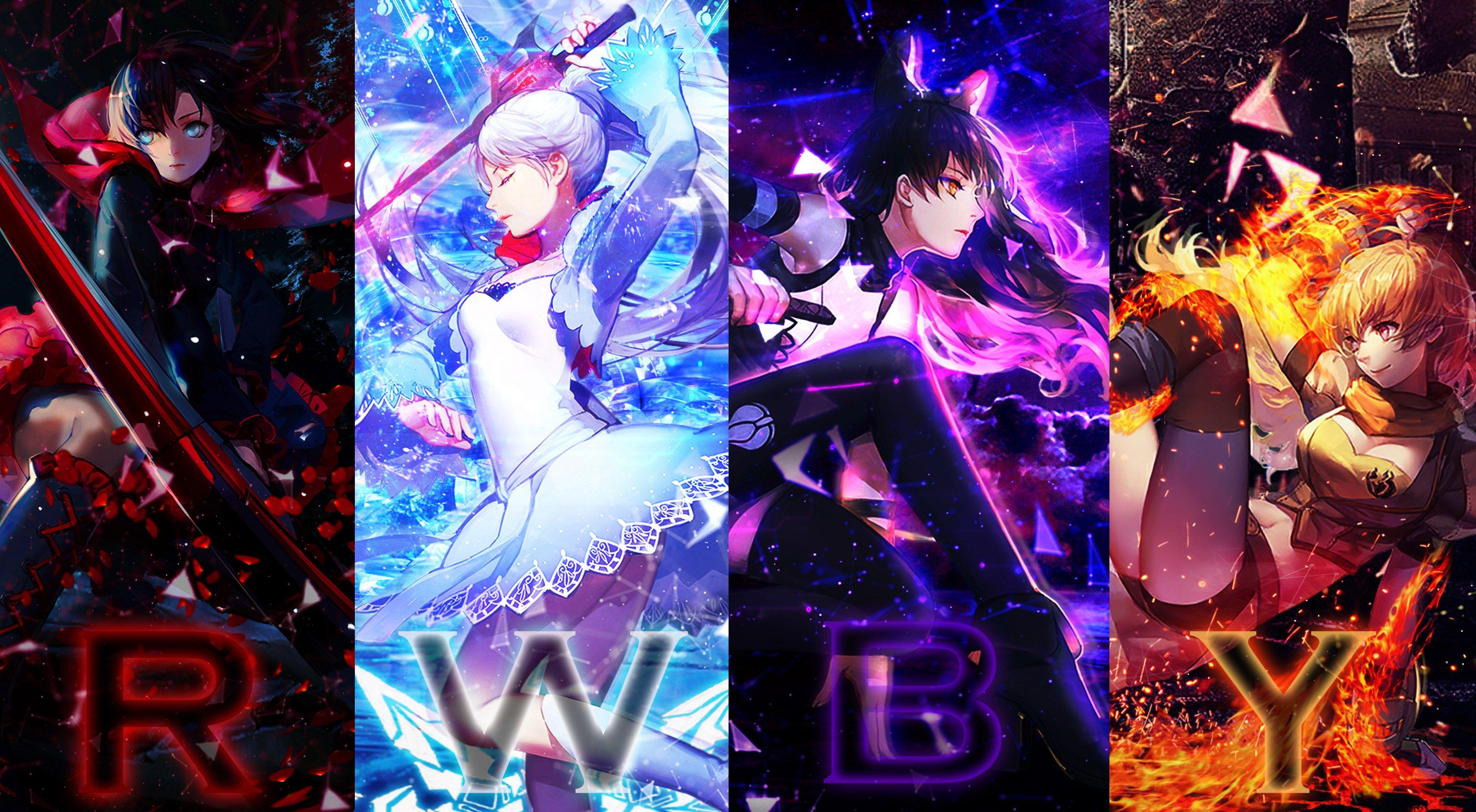 Best Rwby Best Anime Shows Rwby Rwby Wallpaper
