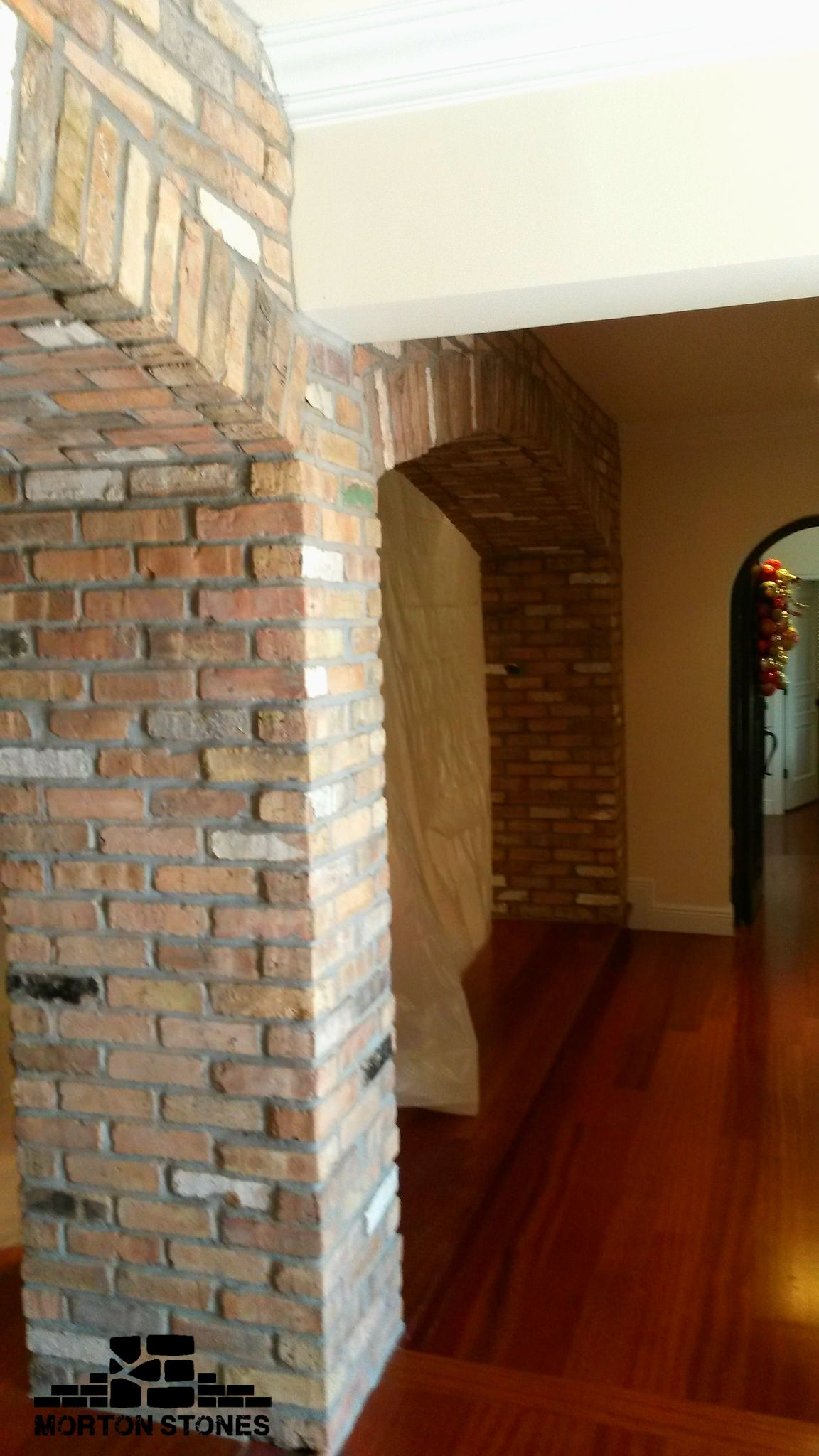 Brick arches bring luxury and stateliness to your home