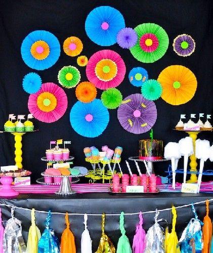 Fiestas cumplea os adolescentes decoracion 13 dia de las - Decoracion dia de la madre ...
