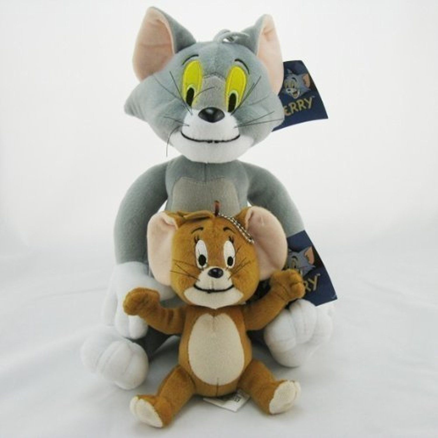 Cat /& Mouse Cartoon Soft Toy Tom and Jerry Plush Doll Cute Stuffed Anime Figure