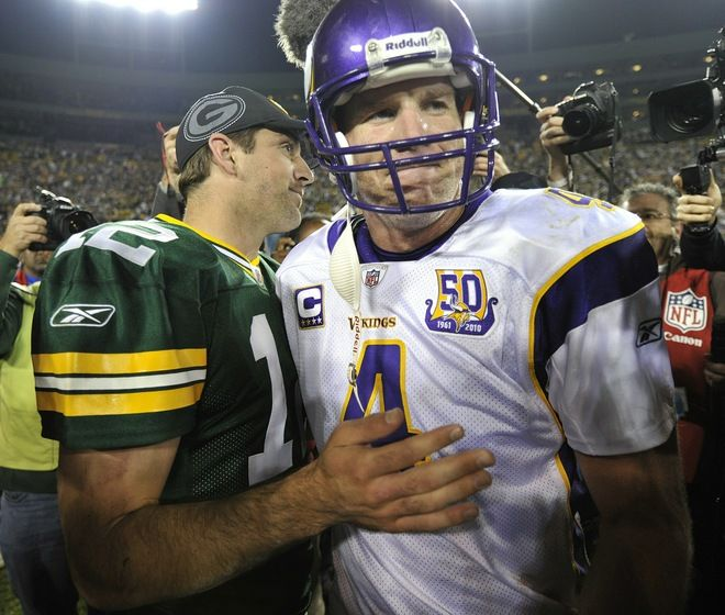 Rodgers and Farve