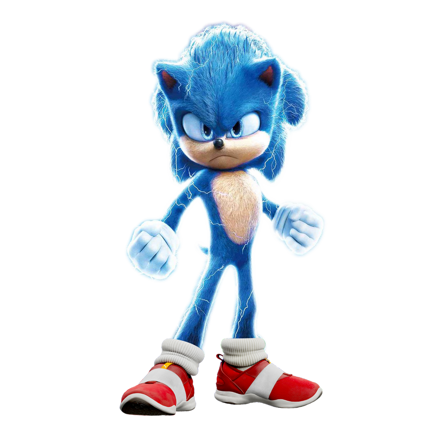 Sonic Movie Sonic Electric Form By Soniconbox On Deviantart In 2020 Sonic Sonic Electric Sonic The Movie
