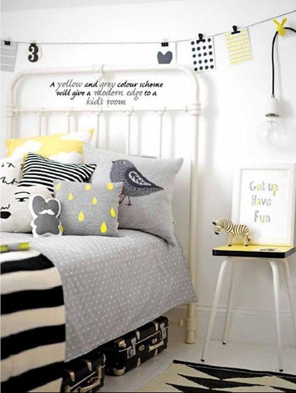 Ideas para dormitorios infantiles unisex   Paredes blancas, Detalles ...