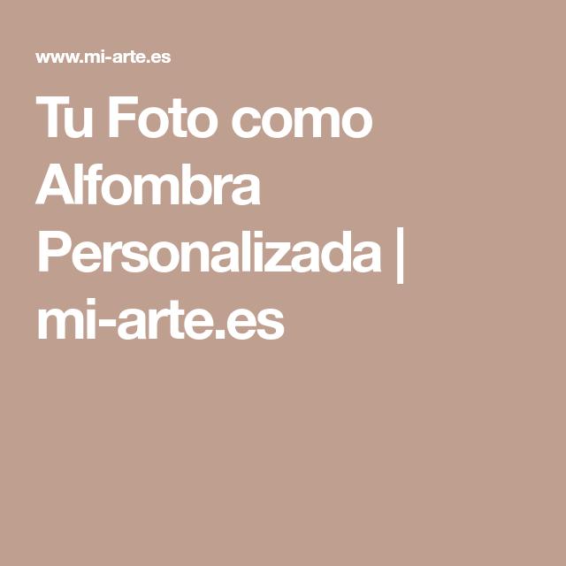 Alfombra con Foto » Alfombra personalizada | mi arte.es