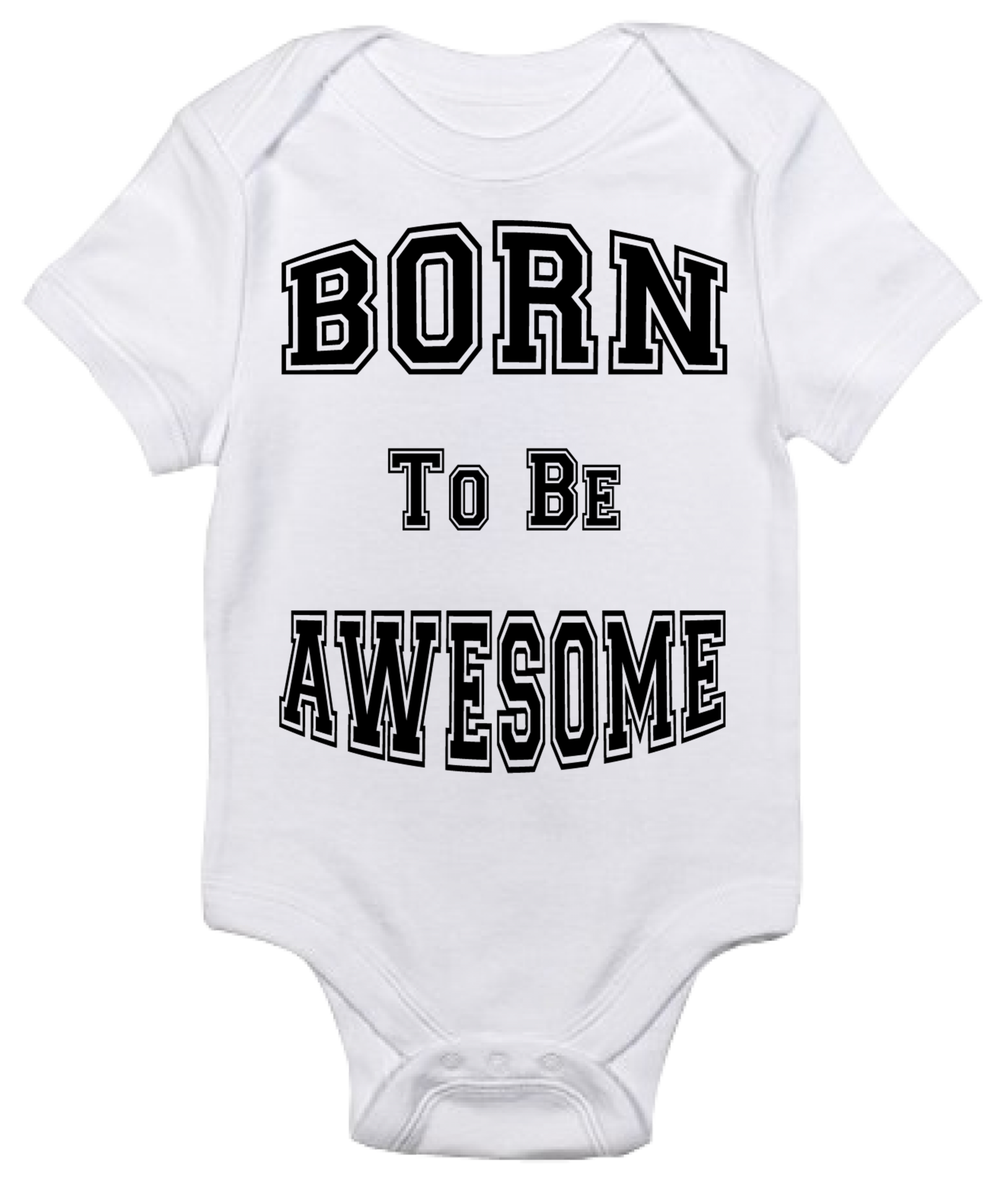 Baby Bodysuit Born to be Awesome