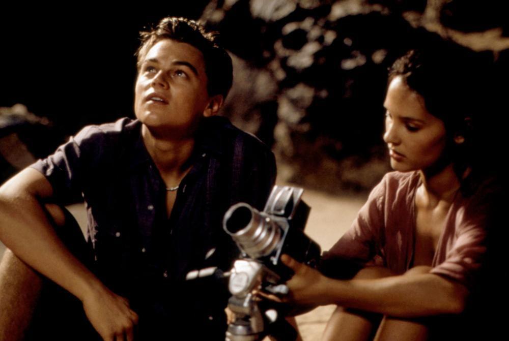 THE BEACH, Leonardo DiCaprio, Virginie Ledoyen, 2000, TM