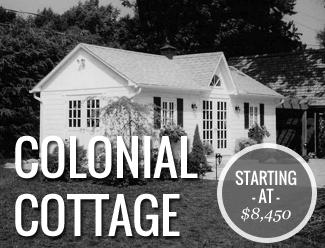 Our Models Socal Cottages Colonial Cottage Cottage Kits Prefab Cabin Kits