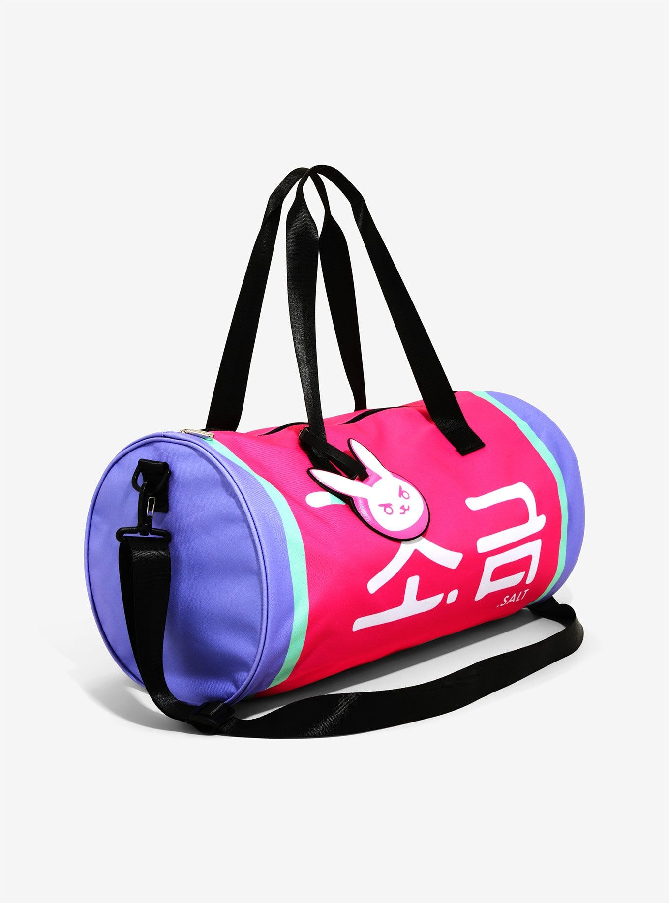 112fae2a063 Loungefly Overwatch D.Va Duffel Bag - BoxLunch Exclusive | Gaming ...