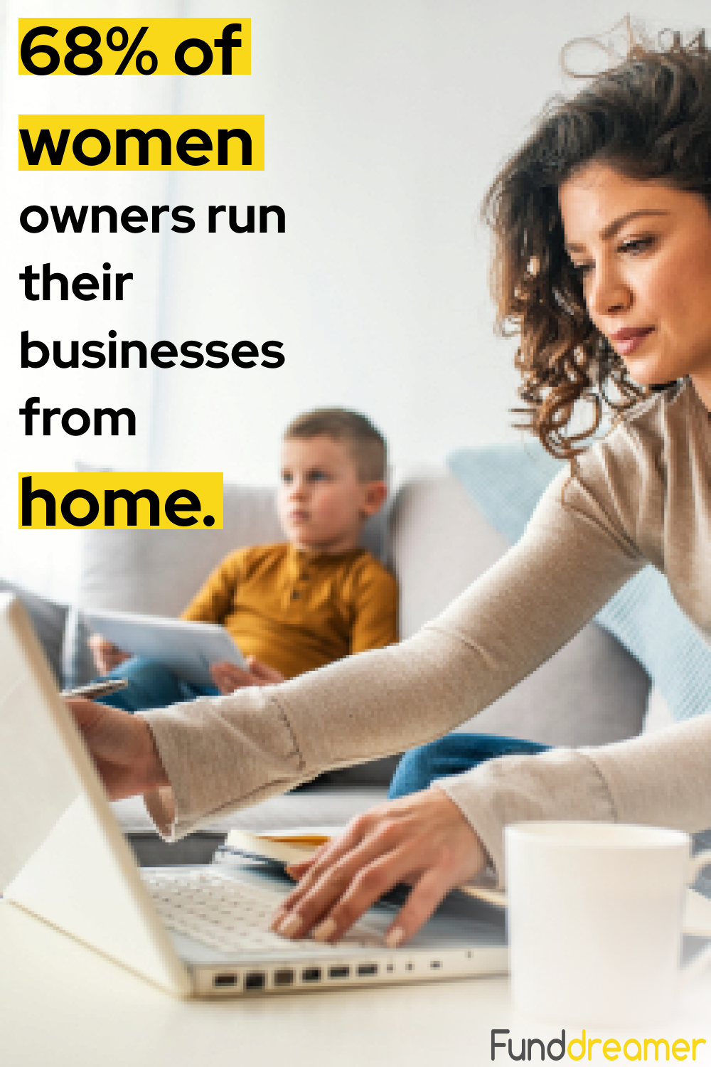 Wheather it's due to insufficient funds or to a lack of employees, 68% of women owners work from home.  #SiliconValley #crowdfunding #freedom #success #entrepreneurship #Entrepreneurs #FemaleEntrepreneur #entrepreneurmindset #Youngentrepreneurs #socialentrepreneur #entrepreneurslife #womanentrepreneur #EntrepreneurTips #VentureCapital #dreambig #dreamsdocometrue #girlboss