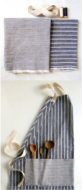 7 Free DIY Apron Sewing Patterns - Kids, Men, Vintage | Crafts - DIY ...