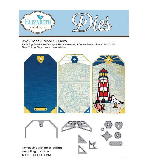 Elizabeth Craft Designs Tags More Tag 2 Dies Products