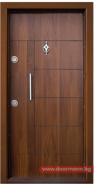 Blindirana Vhodna Vrata Kod T587 Cvyat Zlaten Db Flush Door Design Doors Interior Modern Wooden Door Entrance